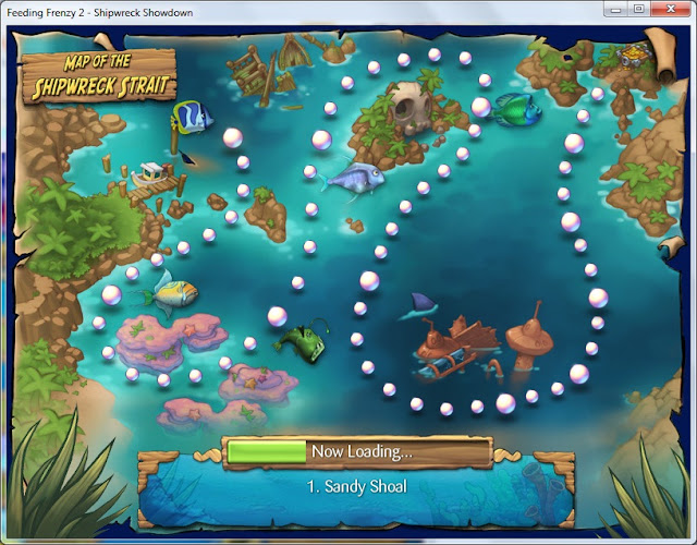 Free Download Feeding Frenzy 2 - Shipwreck Showdown Full Version