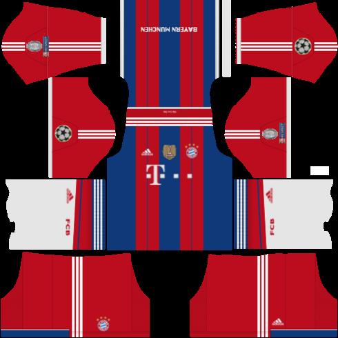 Fts 15 kits y logos bayer munchen