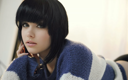 Short hair beautiful girl millisa clarke hd wallpaper