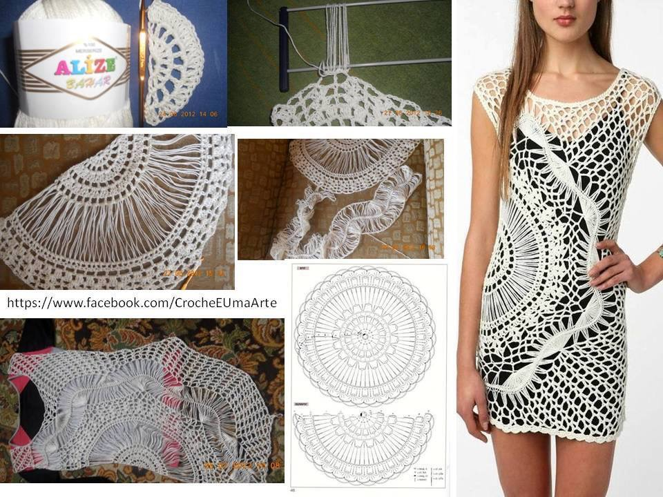 Free Crochet Pattern for Sparkle & Swirl Tunic by Urbanotfitters