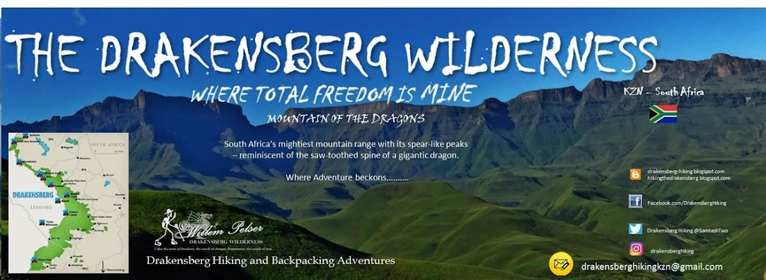 Drakensberg Wilderness Hiking South Africa - Mountain of the Dragons - Where Adventure beckons.....