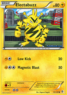 Electabuzz Boundaries Crossed Pokemon Card