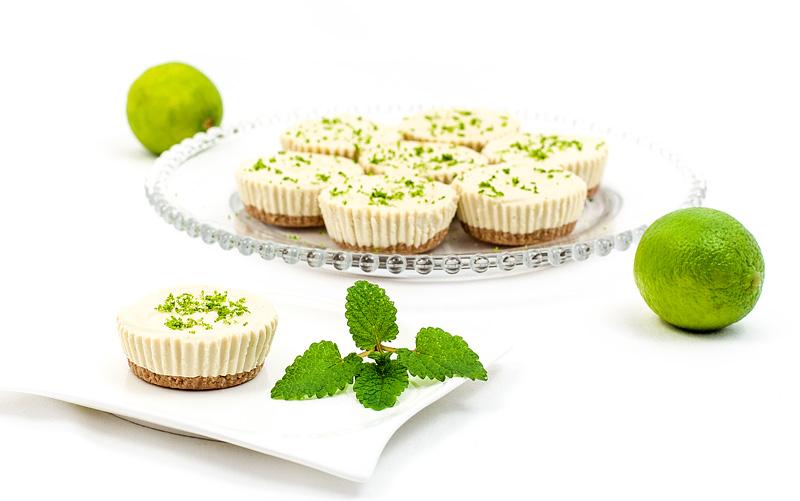 Mini raw lime tarts mini presne limetine tortice za naslovnico recepta