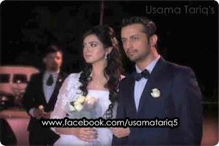 atif aslam and sara wedding pics