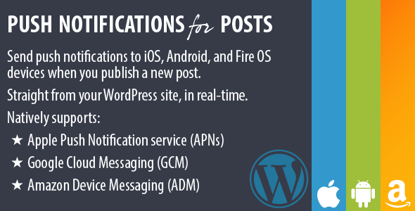 Push Notifications for Posts WordPress Plugin v2.0.1