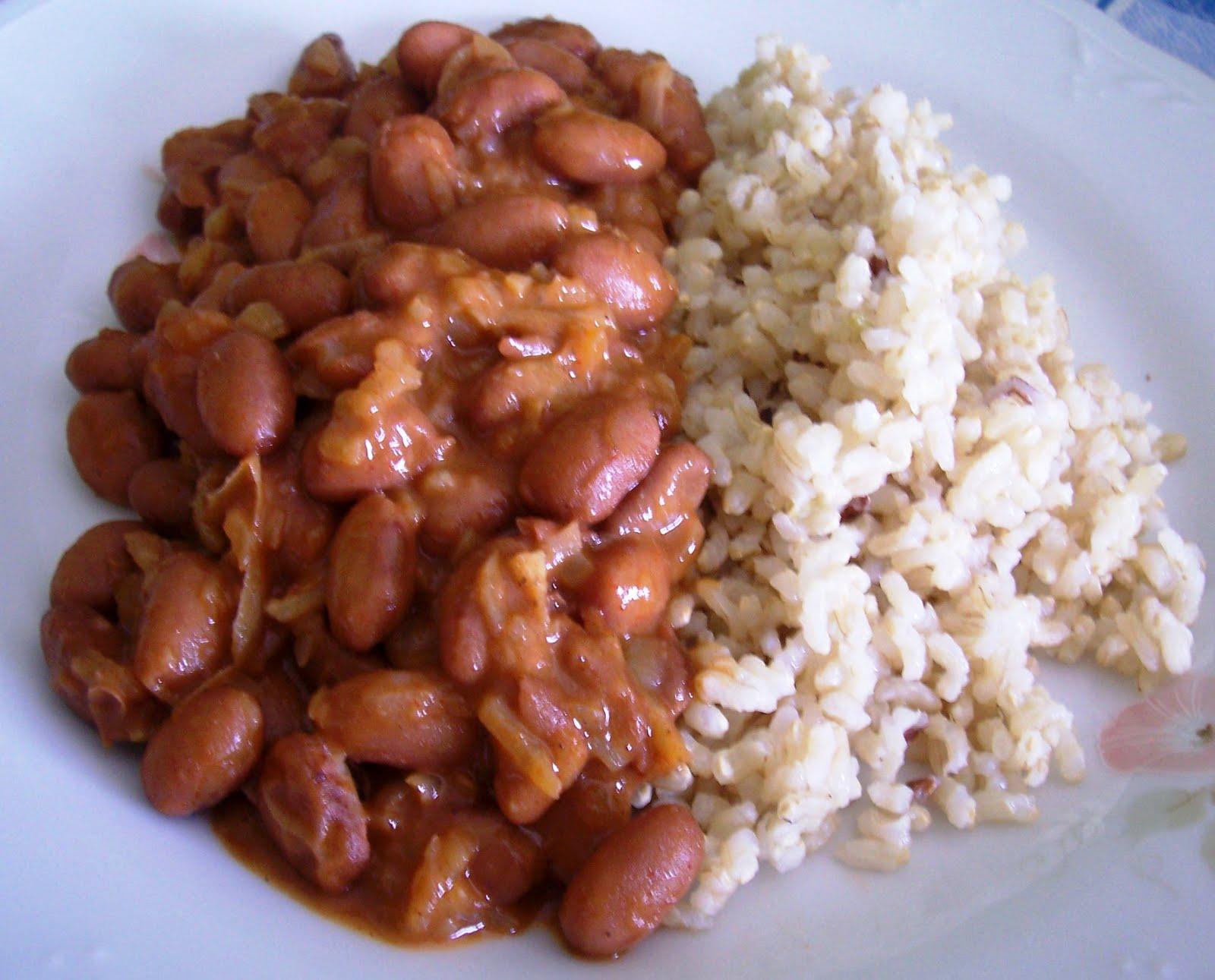 Jud as pintas con arroz receta asopaipas recetas de - Judias pintas con manitas ...