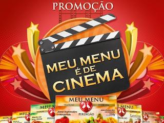 Promoção Meu Menu é de Cinema Perdigão