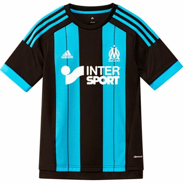 Nueva camiseta adidas suplente del Olympique de Marsella para el 2015/2016