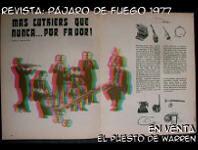Revista, Pajaro de fuego, 1977