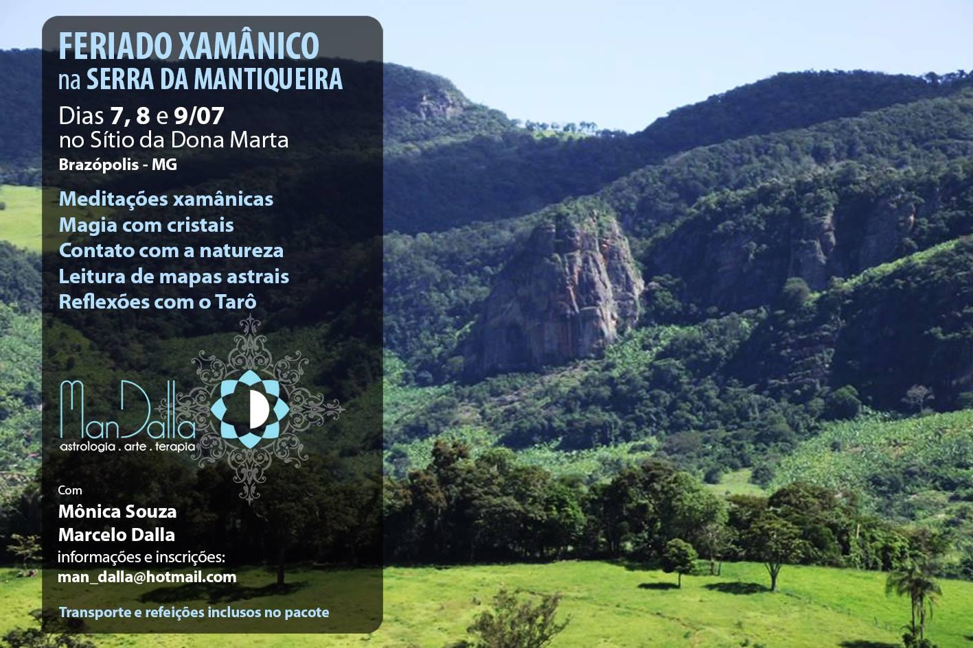 Feriado Xamânico na Serra da Mantiqueira
