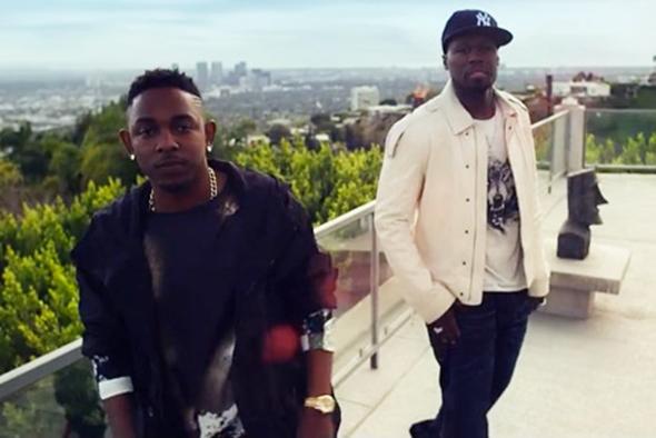 """50 Cent lança clipe """"We Up"""" em parceria com Kendrick Lamar"""