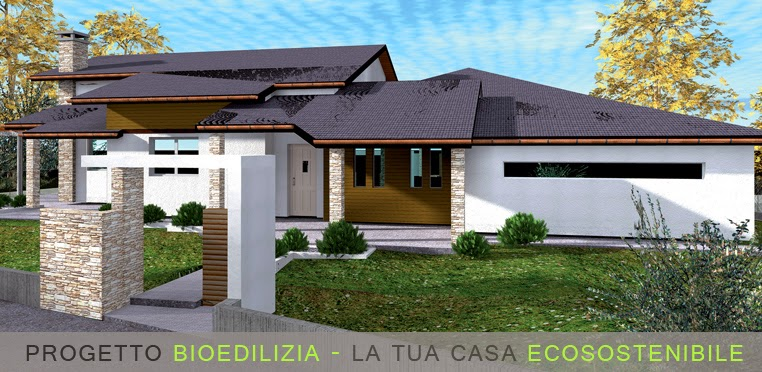 Casa ecosostenibile progetto for Progetti case ecologiche