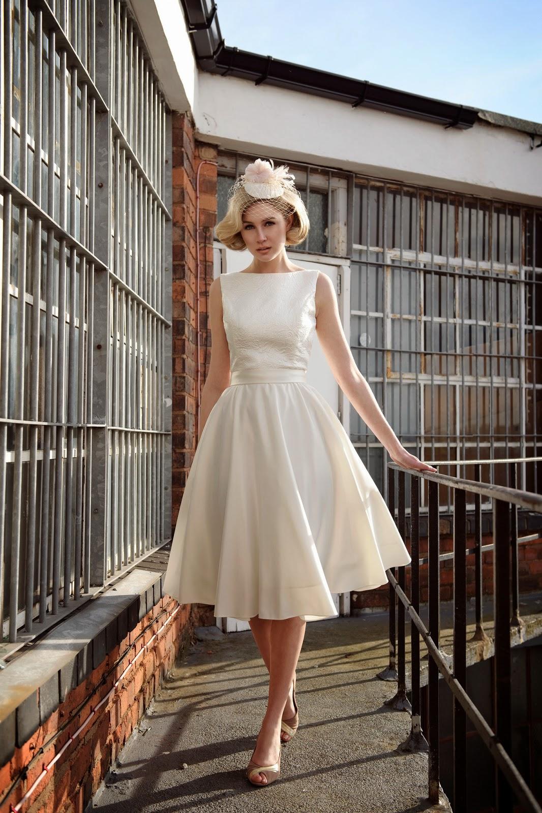Mis Vestidos de Novia: Vestidos de Novia Cortos: Tobi Hannah (Modelo ...