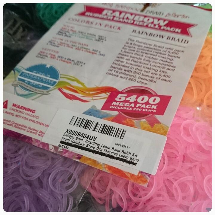 rainbow braid 5400 refill kit
