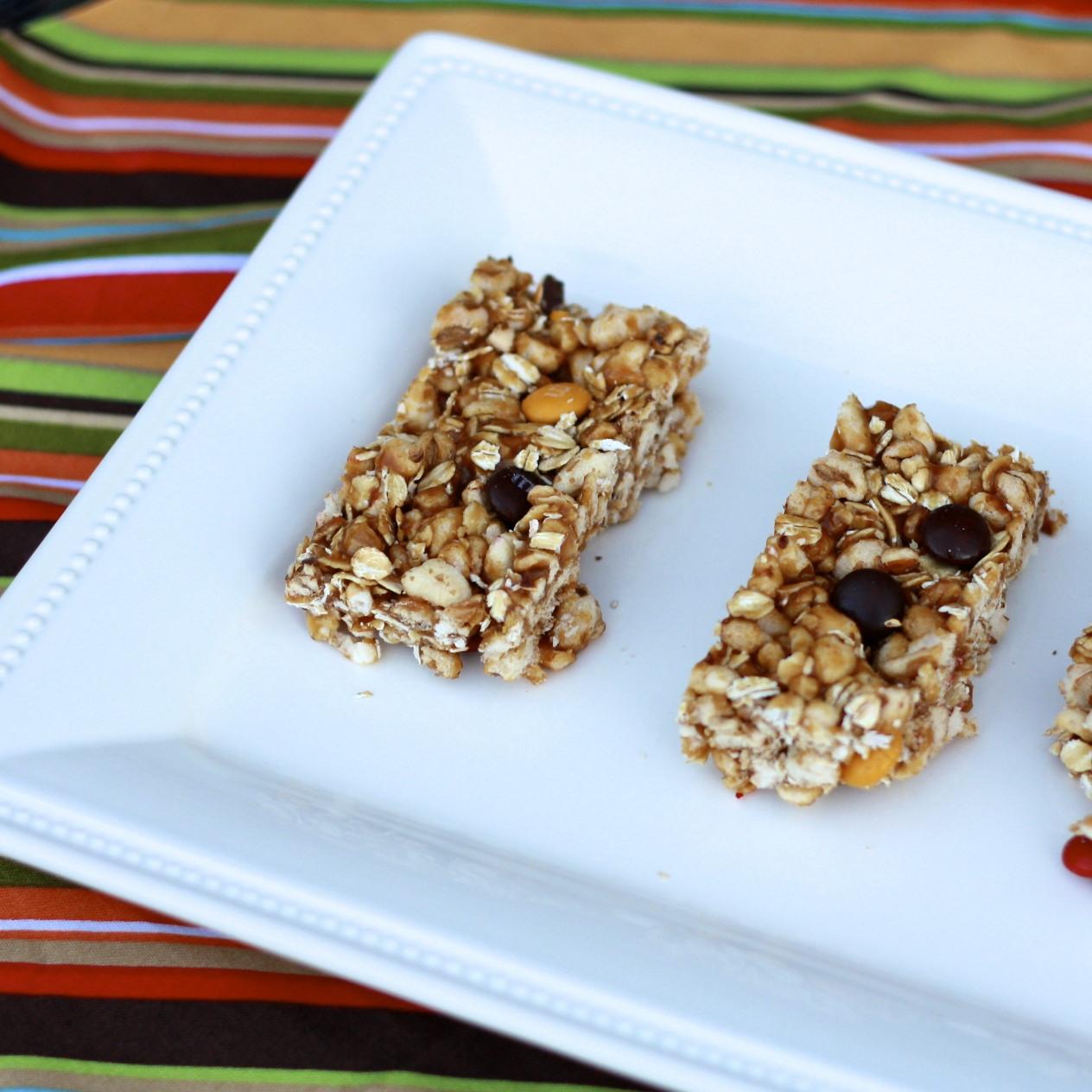 The Sweets Life: No Bake Biscoff Granola Bars