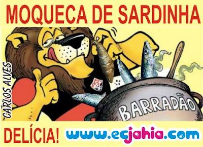 Moqueca de sardinha no Barradão