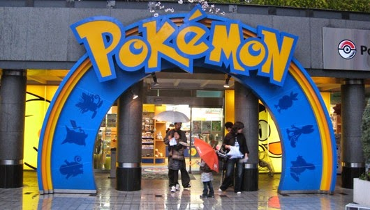 Pokemon center éphémère à Paris