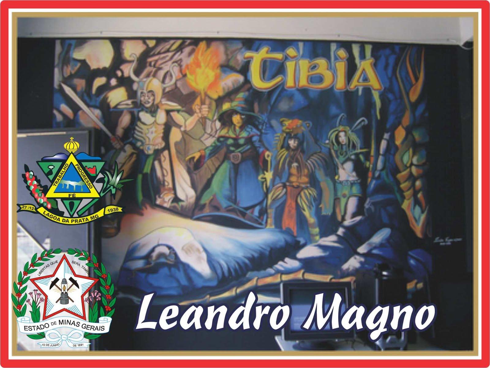 Obras de Leandro Magno de Lagoa da Prata