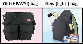 One Shoulder Diaper Bag Backpack 44