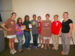 Montgomery Catholic Math Team takes 1st Place at AMP'ed 1