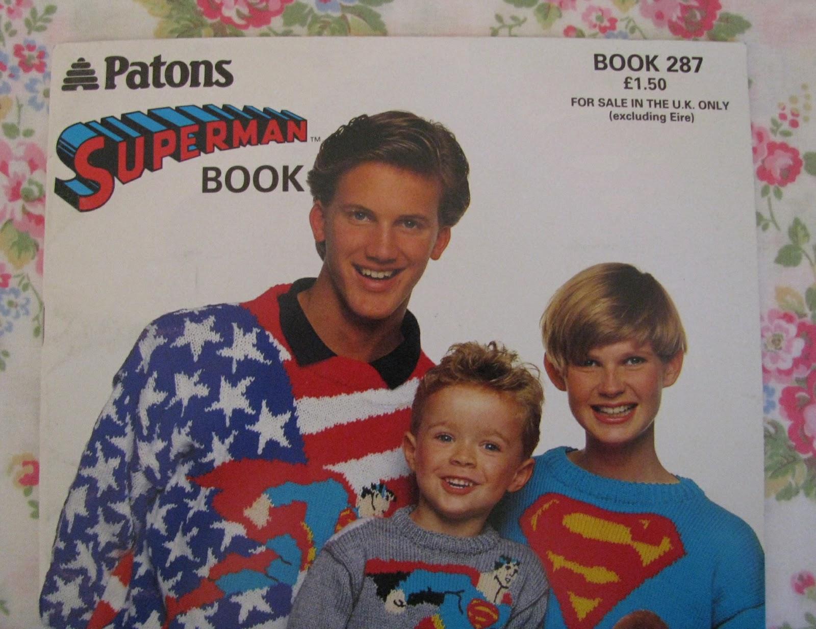 Knit Your Own Superman ... (Jumper) | Shortbread & Ginger