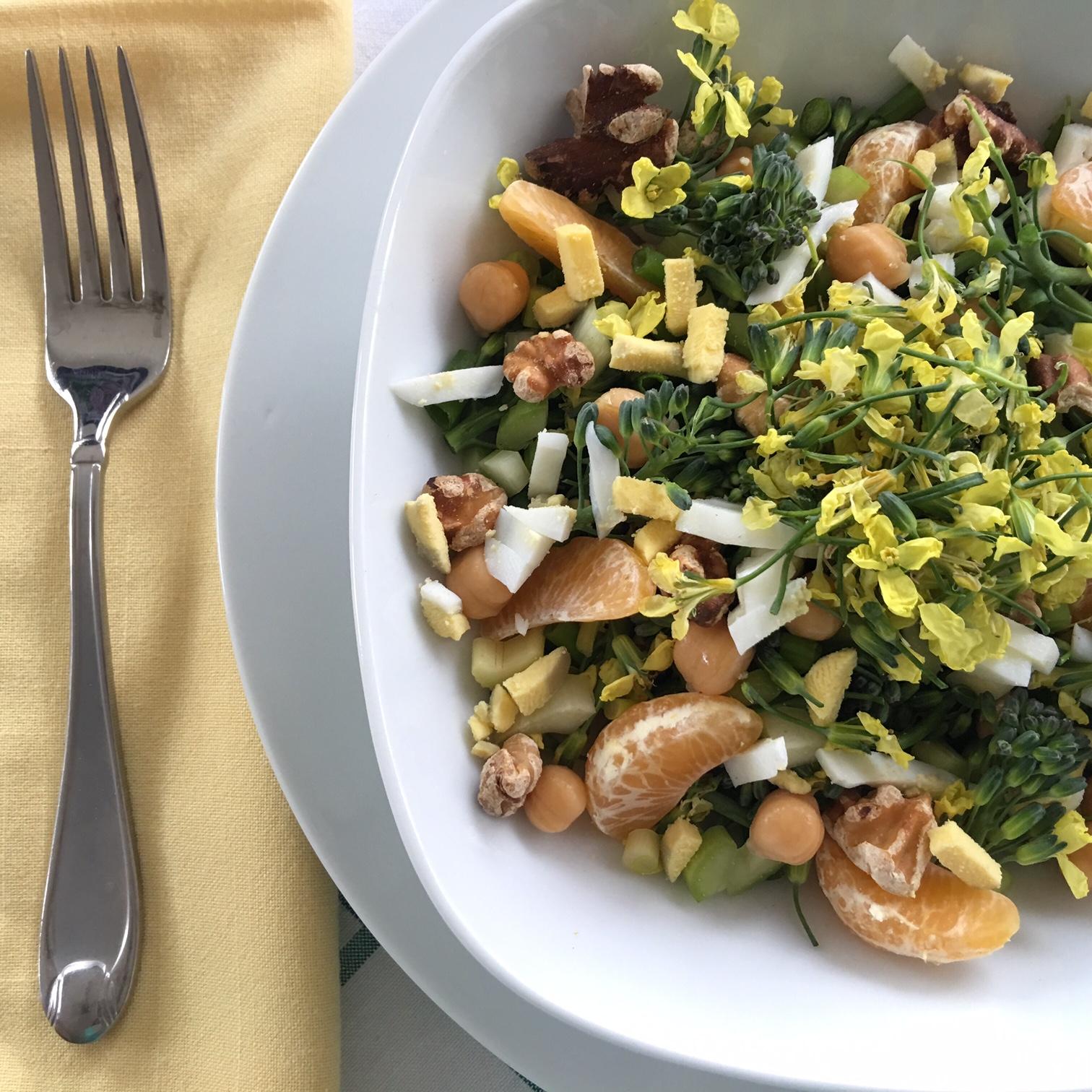To Market To Market With San Diego Foodstuff Broccoli Flower Salad