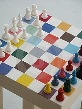 Reanvi el ajedrez de mil colores for De mil colores