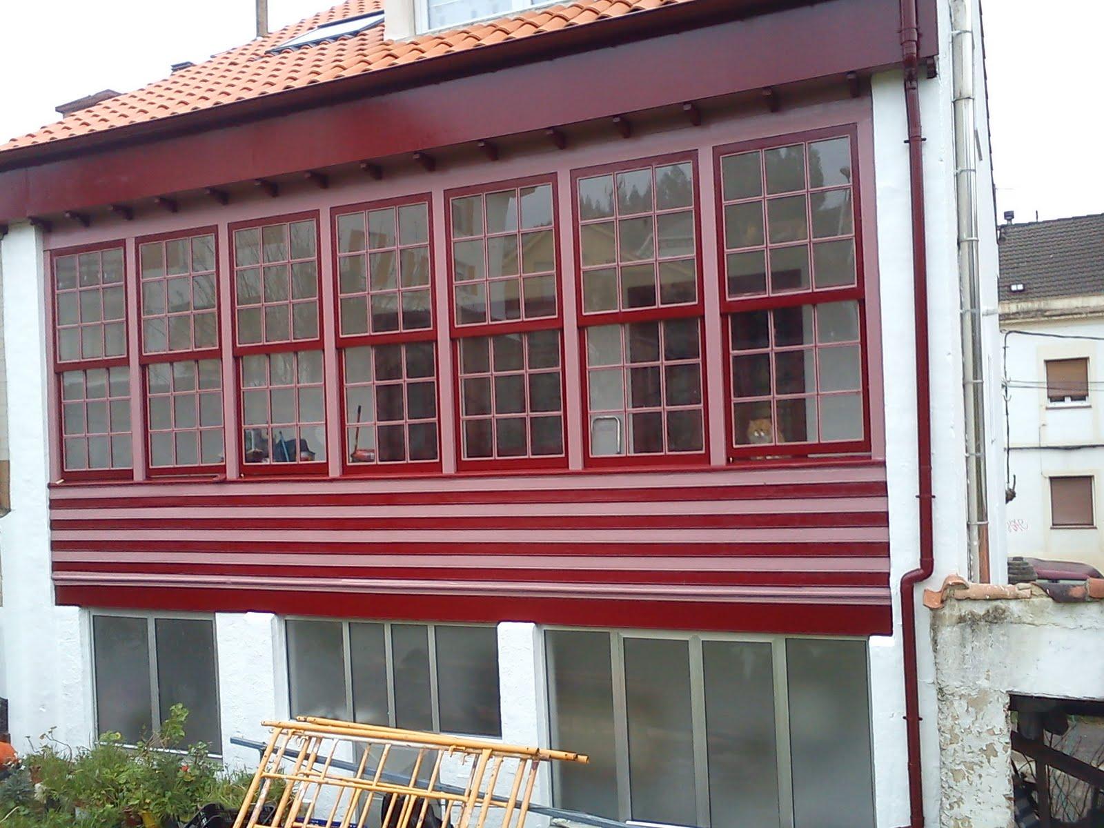 Pinturas pablo pintura exterior de un corredor en luanco - Pinturas de exterior ...