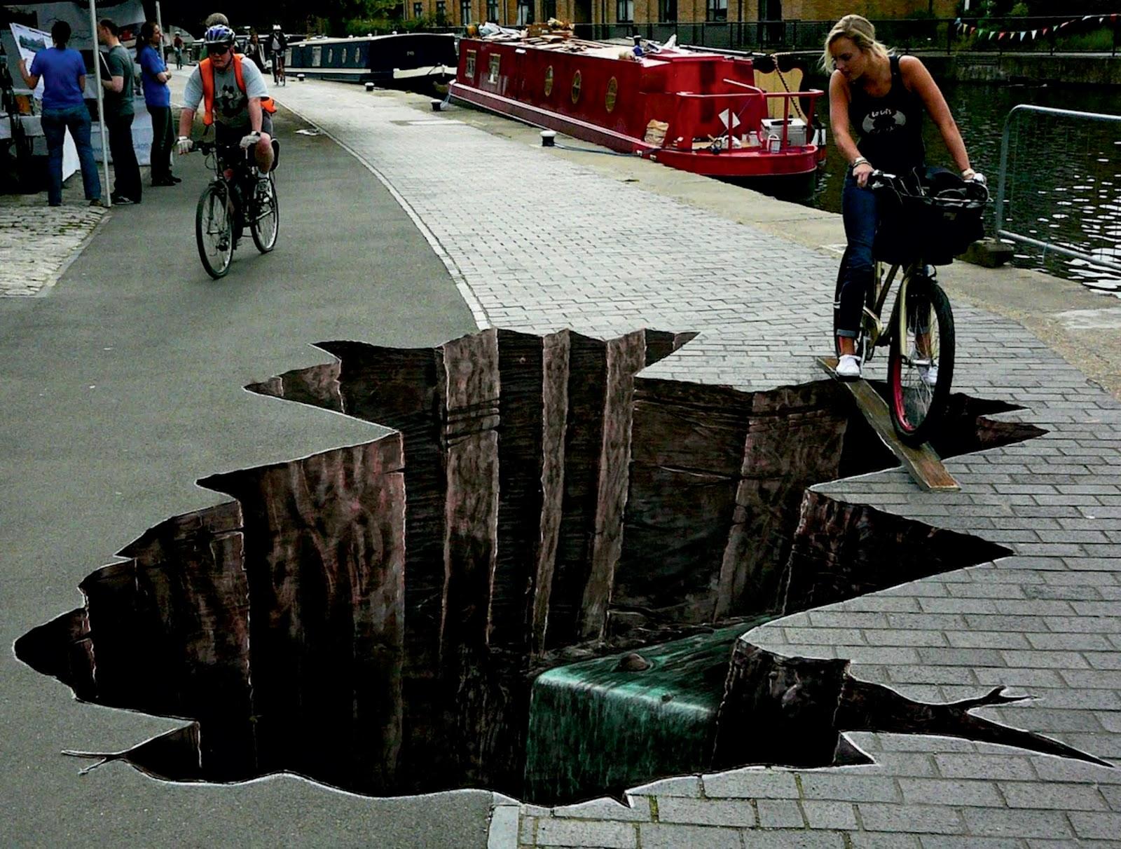 The Amazing 3D Street Art In West Dock