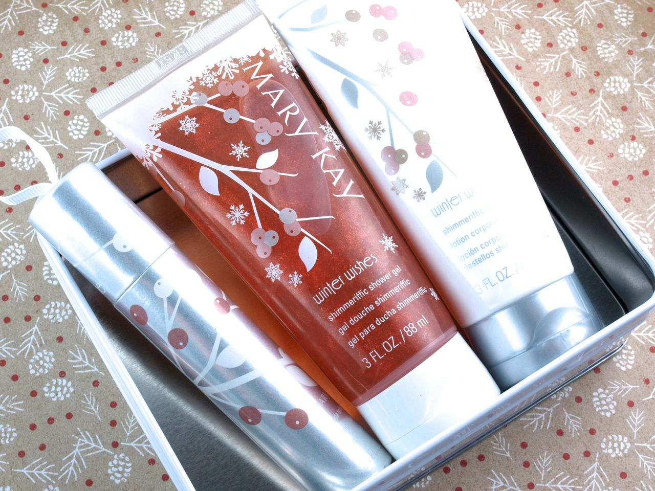 Mary Kay Holiday 2014 Winter Wishes Gift Set & Fragrance Wand: Review