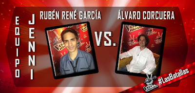ruben rene vs alvaro corcuera la voz