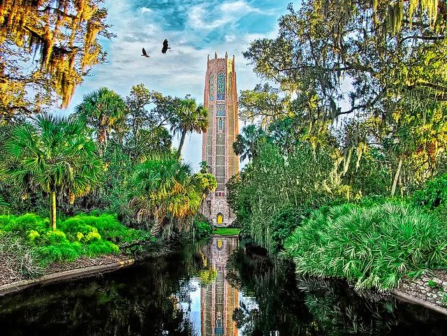 Bok Tower Gardens na Flórida