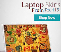 Buy Laptop Skins upto 80% off from Rs. 115 : BuyToEarn