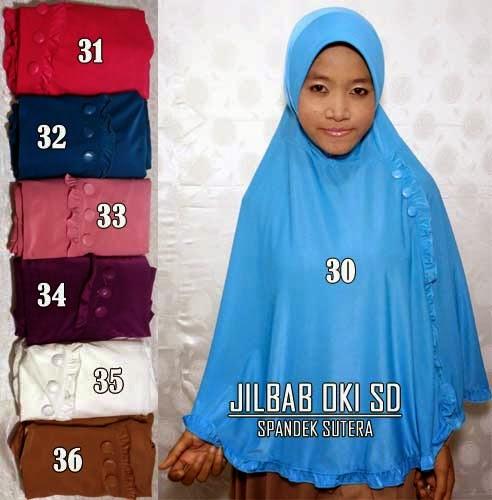 Jilbab syar'i oki setiana dewi model terbaru 2015