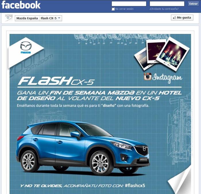 Mazda lanza su primer concurso fotográfico en Instagram