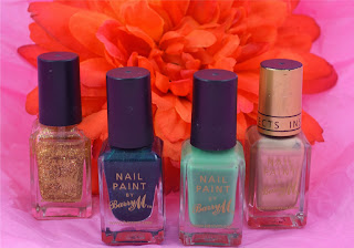 St Patricks day - nail art - nail polish - nail design