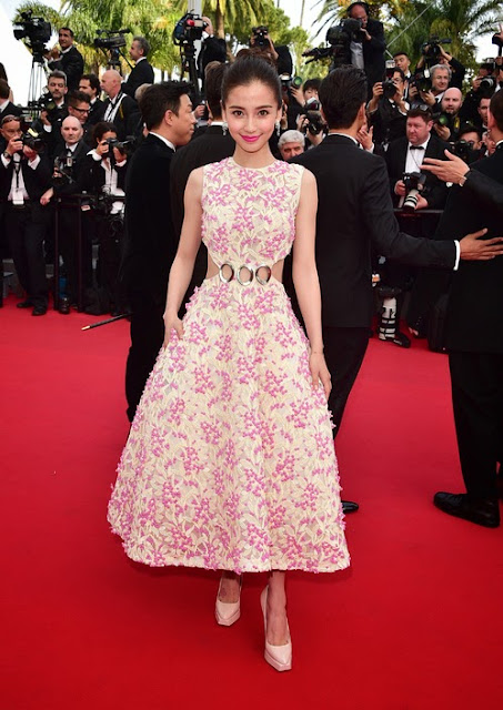 68º Festival Cannes 2015 - Angelababy - Christian Dior Couture