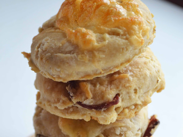 Bacon Beer Biscuits