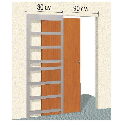 Дверь раздвижная в стену