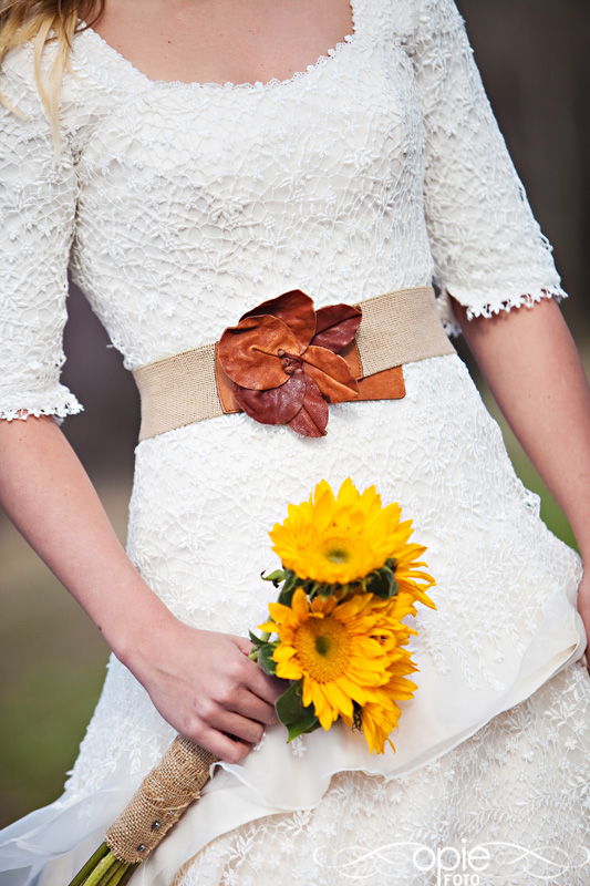 Sunflower bouquets modest wedding dresses and modest for Sunflower dresses for wedding