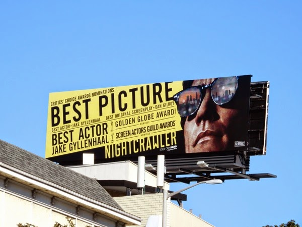 Nightcrawler Best Picture billboard