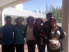 EQUIPO DIRECTIVO JUNTO A VISITANTES CHILENOS