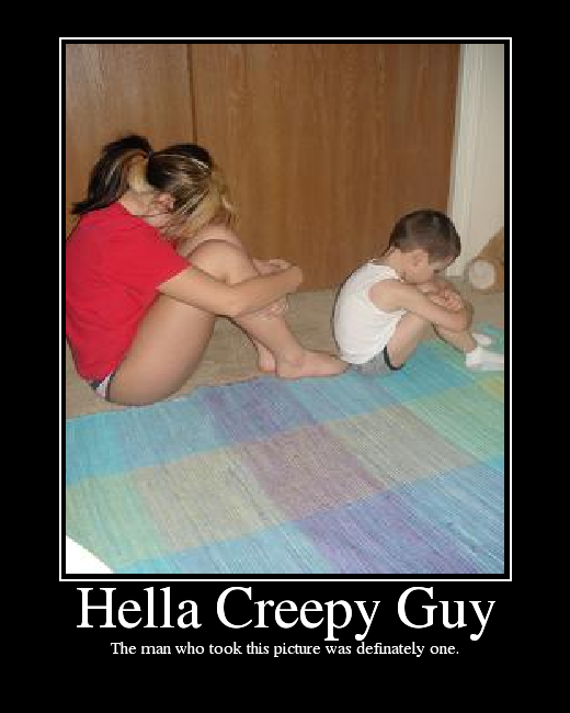 creepy guy