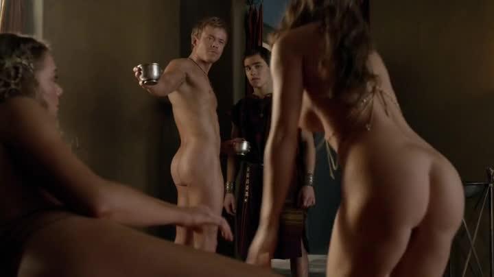 Male Celeb Screencaps: Todd Lasance Naked Screencaps In Spartacus War ...