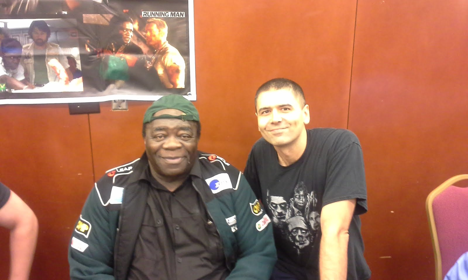 Me and Yaphet Kotto