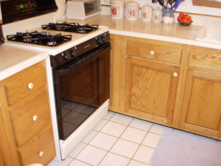Golden Kitchen Cabinets