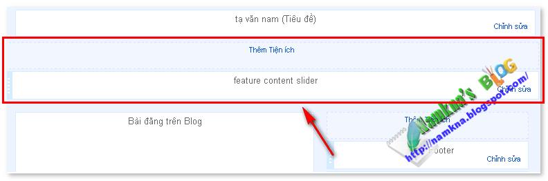 Slider trưng bày sản phẩm theo nhãn cho blogspot