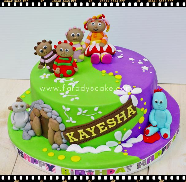 In the night garden where everything is made with love for In the night garden cakes designs