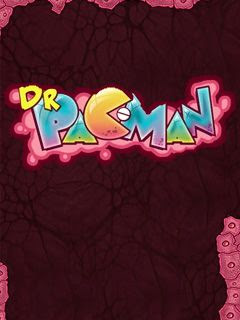 Screenshots of the Dr. Pacman for java mobile, phone.