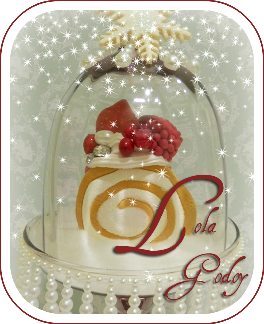Redecorate con lola godoy decoraci n dulce de navidad for Decoracion de brazo gitano